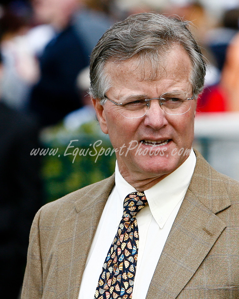 Bill MOtt at Keeneland 4.19.2008