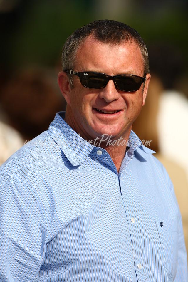 Brian Lynch at Gulfstream Park. 1.31.2008