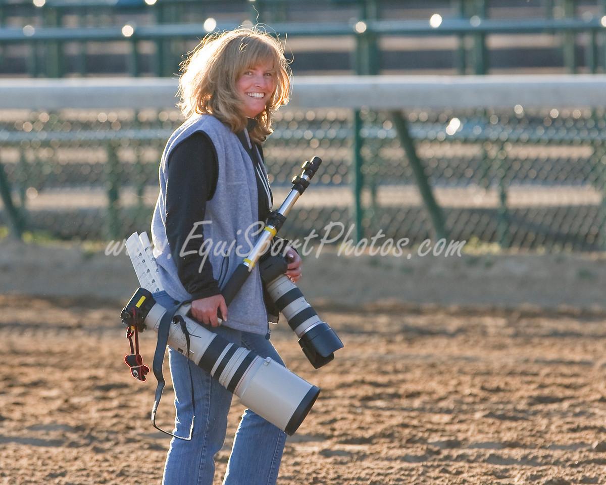 Wendy Uzelac at the Ky. Jockey Club S. at Churchill Downs 11.28.2009 (EquiSport Photos)