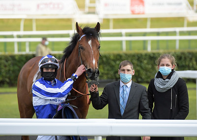 AEIRON POWER with Mark Crehan wins in Sky Sports racing Sky 415 handicap stakes at Doncaster 1-5-21.