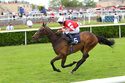 Summer's Knight and Luke Morris win the Watch Free Race Replays On attheraces.com Handicap at Doncaster from Fandabidozi. 13/6/2021 Pic Steve Davies/Racingfotos.com