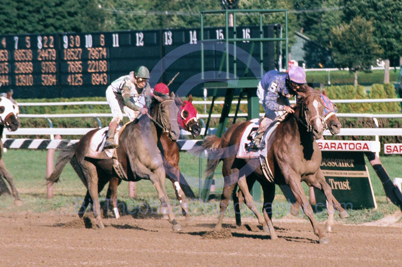 Delaware Township takes the 2000 Forego Handicap at Historic Saratoga Race Course.