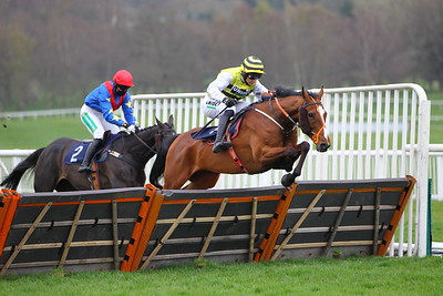 Ask A Honey Bee and Paddy Brennan win at Uttoxeter. 1/4/2021 Pic Steve Davies