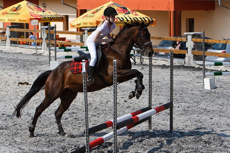 Mandikova Zuzana na koni Vastervik