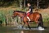 Matrasova Katerina na koni Grund