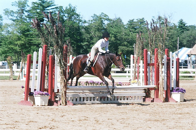MHJ Finals, Fieldstone Farm Aug 08 - Libby on June Bug