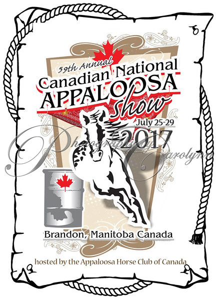 2017 Canadian National Appaloosa Show