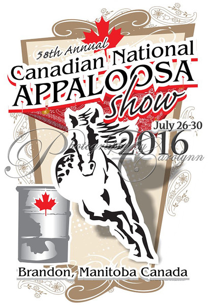2016 Canadian National Appaloosa Show