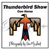 Thunderbird Show cow horse