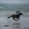 Horse racing on the beach at Glenbeigh Horse Racing Festival . Sunday 31st of August 2014