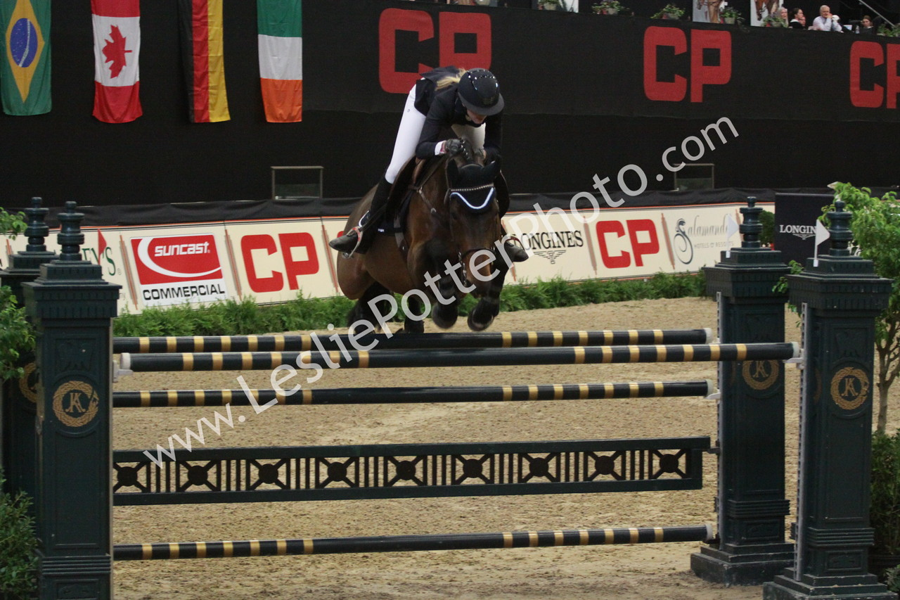 Sarah Bagworth and Goldfinger V/D Hengstenpoel