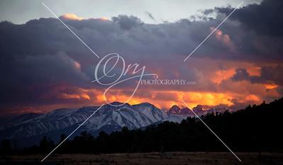 Firey Peaks