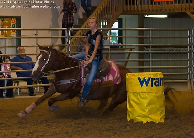 09-17-2011 Fundraiser Barrel Race At Triad Livestock Arena