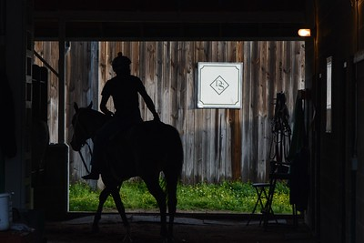 Dallas Stewart's barn