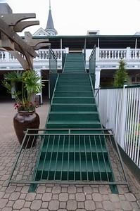 The jockey staircase