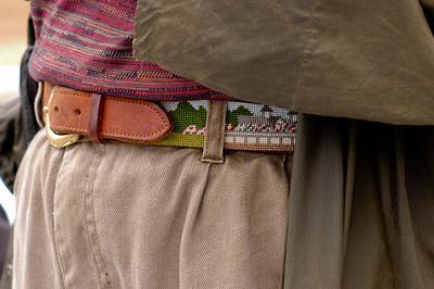 One beautiful belt