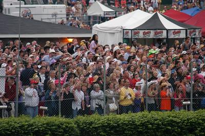 Infield crowd sees Borel's big move