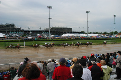 The entire field of 20 in Derby 136