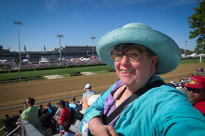 Welcome to Jan's view of Derby 140!  Churchill Downs in Louisville, under sunny skies
