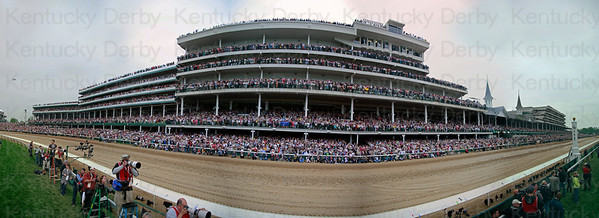 Panorama of the Grandstand