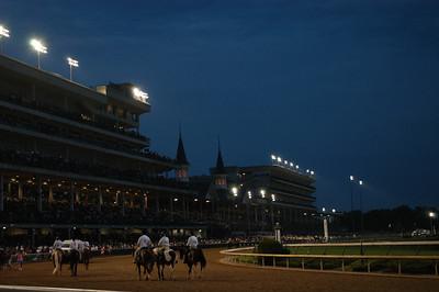 Night Racing begins at CD, 2009 (7 of 8)