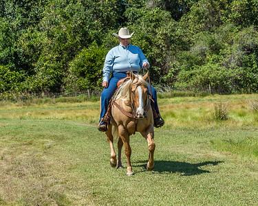 MANE CIRCLE AQHA RANCH HORSE PLEASURE SHOW 10-17-15