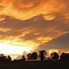 Sunrise as seen from Hideaway Farm 7/31/11