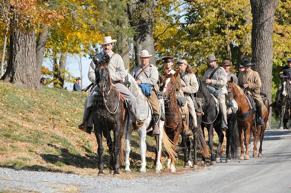 Todd Kern, Confederate Cavalry