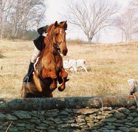Foxhunting, 1990, do you know who this is? (MB)