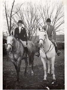 Middleburg Hunt 1967 Thanksgiving Meet - Foxcroft Molly and Dennis (dad)