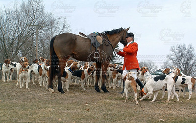 John with Hounds Foxcroft 2005