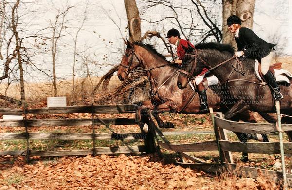 Middleburg Hunt, 1994 Jeff & ? Bolinvar