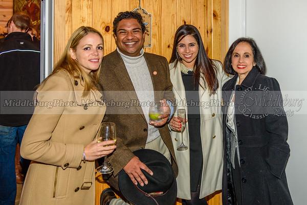 Jacqui Porter, George Bethel, Michelle Barro Knutsen and Lourdes Barro