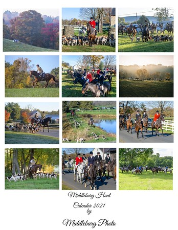 Middleburg Photo calendar