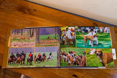 OCH photo book with dust cover, lay flat, glossy pages ready for Christmas.  These are available at Middleburg Tack Exchange.