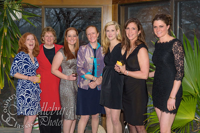 L-R Katy Carter, Barbara Riggs, Merideth Bark, Elizabeth Greene, Elle Porter Morison, Marilyn Adams, Jennifer Strickland