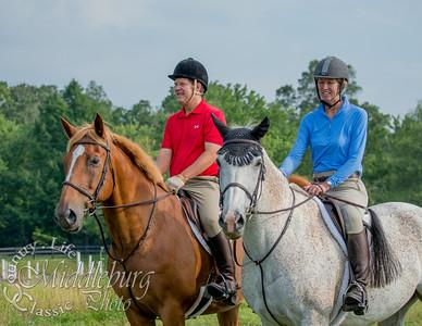 Piedmont Fox Hounds - Trail Ride - July 2014