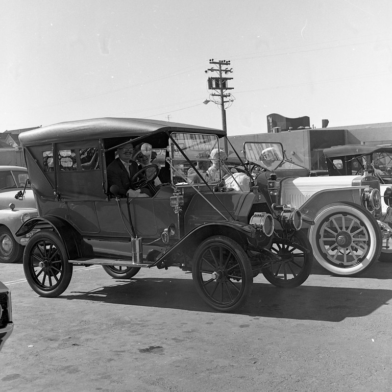 ". Participants in the Horseless Carriage Club of America came from far and wide for the ""Redwood Tour\"" in August 1965. Members of this club -- which still exists today -- enjoyed a bevy of activities during their four-day stay in Humboldt County. Many dressed in period costumes throughout the gathering. (Times-Standard file photo)"