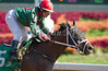Fighting Xena with Lori Wydick up wins the 6th race at Belterra Park. 07.04.2014.