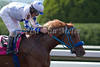 Araksia with Viktor Schulepov (white cap) wins the opening race of the Keeneland Fall Meet. 10.04.2013