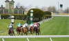 Appealing Cat with Edgar Prado (green cap, outside) wins the 6th race at Keeneland Race Course. 04.12.2013