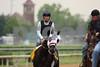 I Want Revenge and Joe Talamo work at Churchill Downs. Louisville, KY. 4.28.2009