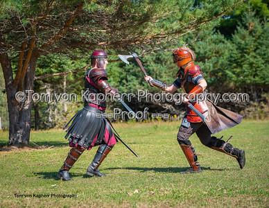 Battle scenes