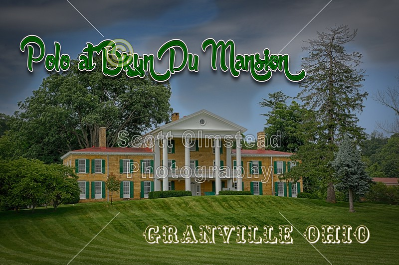 Sunday Afternoon Polo Match at the Bryn Du Mansion located in Granville, Ohio - Sunday, July 6, 2014