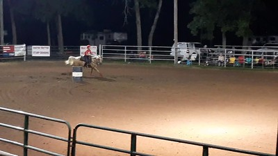 Daisy's First Barrel Race