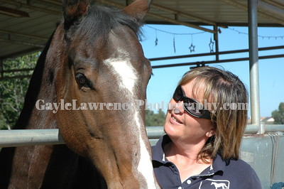 Dawn Fletcher and Her Horse