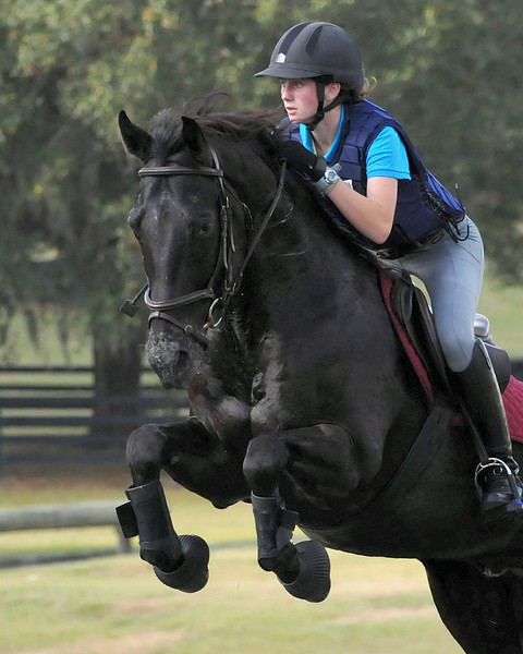 Mariana and Travis in Buck's YR Clinic in Ocala