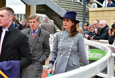 Brough Scott and Alice Fox Pitt