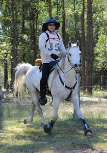 Naadem's final novice 80km ride. Photo by Sue Crockett (2009).