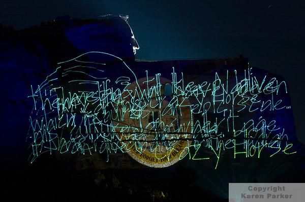 Crazy Horse Memorial - August, 2008